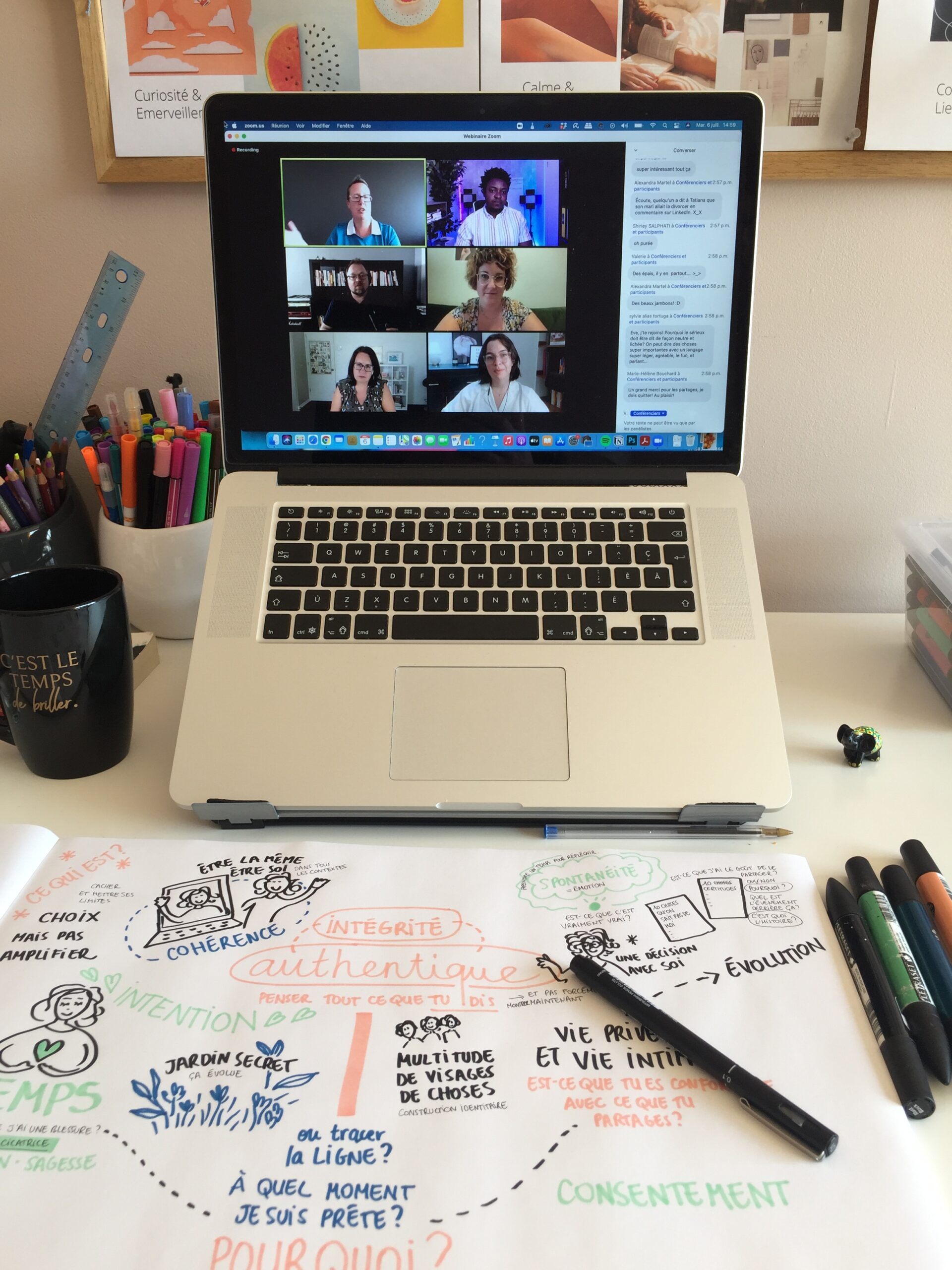 sketchnoting live